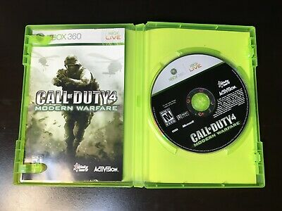Call of Duty Modern Warfare 4 COD IV Xbox 360 Complete Game Tested