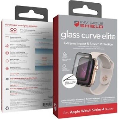 Screen Protector for Apple Watch 44mm Series4 Impact Protection invisibleSHIELD