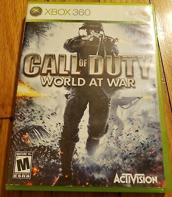 Call of Duty: World at War Microsoft Xbox 360