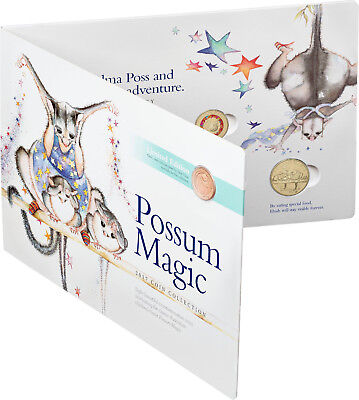 2017 Australia Possum Magic 8 Coin Set - Limited Edition including 1c coin #x.