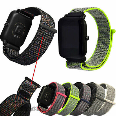 For Xiaomi Huami Amazfit Bip Watch Replacement Canvas Bracelet Strap Wrist Band