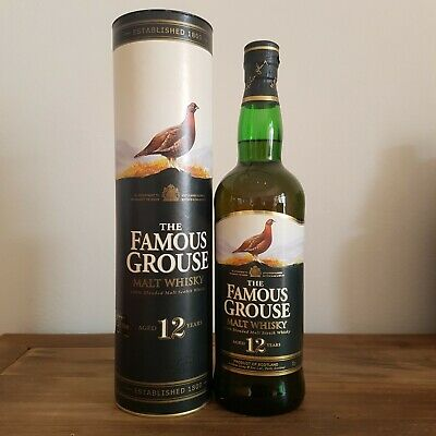 The Famous Grouse 12 Year Old Scotch Whisky 700mL - Discontinued