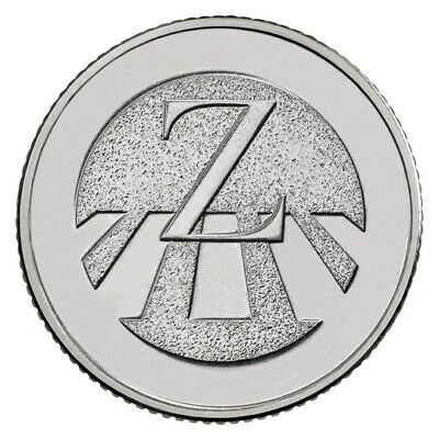 A-Z Alphabet 10P Coins Circulated Early Strike 2018 Letter Z