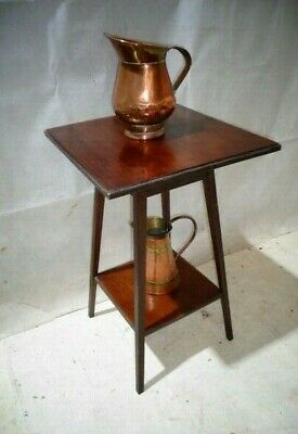 Antique Arts & Crafts Mahogany Sofa Table Scottish School End Table Lamp Table