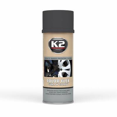 K2 Color Flex Black Matt 400 Ml - Flüssiger Gummi Matt (27,25 €/1L)