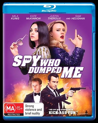 The Spy Who Dumped Me (Blu-ray, 2018) NEW