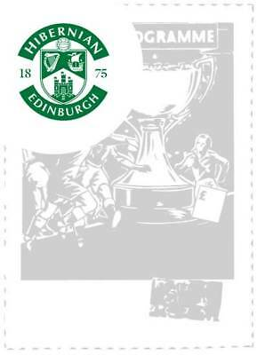 Hibernian V Celtic Scottish Cup 2/3/2019 Programme Pre Order