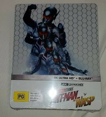 Marvel Ant-Man And The Wasp 4K (STEELBOOK) Region B ***BRAND NEW & SEALED***