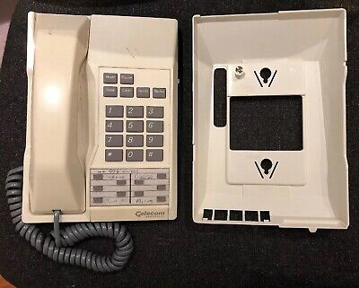 Telstra Touchfone 200 Corded Telephone Home Phone TF200 with Wall Mount Working