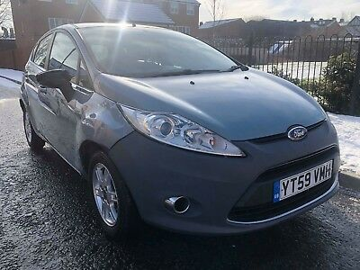 2009 59 Ford Fiesta Zetec 1.4 Automatic Low Mileage 45 Mpg Bargain Px Welcome