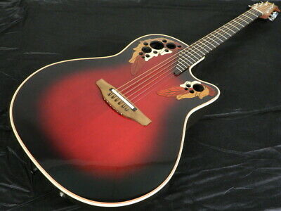 Musikinstrumente 6778 Made In Usa Ovation E-akustikgitarre Elite Standard Mod