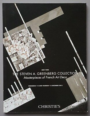 CHRISTIE´S - The Steven A. Greenberg Collection Masterpieces of French Art Deco