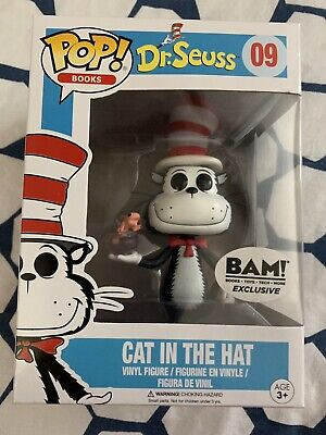 Funko Pop Books Dr Seuss Cat in the Hat  #09 BAM Exclusive