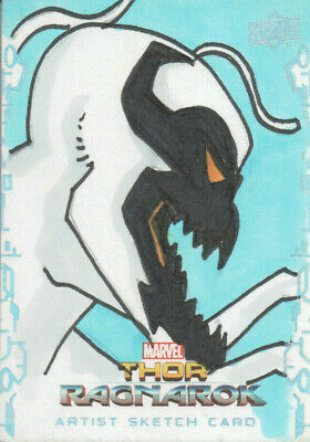 Thor Ragnarok, Eddie Price Sketch Card 1/1