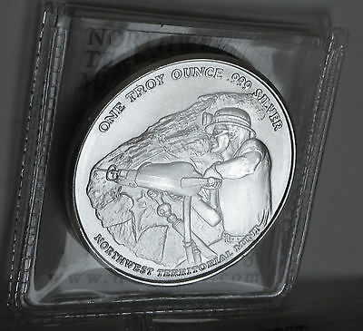 Northwest Territorial Mint Miner Pan American Corp .999 Fine Silver 1 Troy Oz