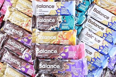 75 Balance Bar Protein Bars 5 Flavors Nutrition Bar Gluten Free Low Glycemic
