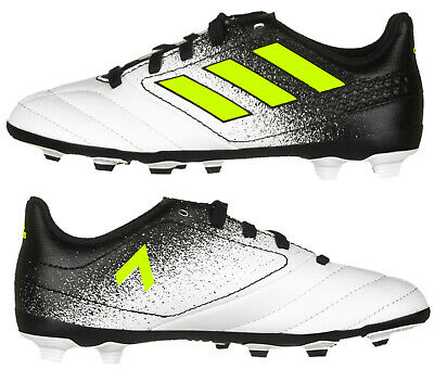 Adidas Boys ACE 17.4 FxG Junior Kids Adidas Football Boots Two Tone New Boxed