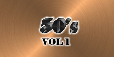 50s Music Videos Collection (3 DVD's) 73 Music videos