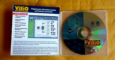 Visio Professional 5.0 (New! plain jewel case)