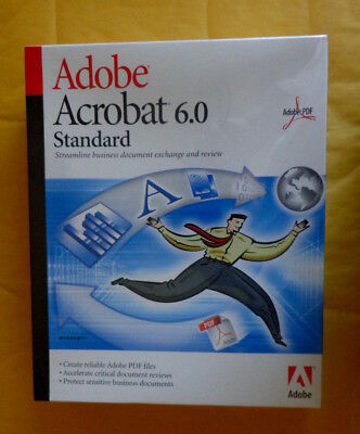 Adobe Acrobat 6.0 Standard (Retail) (1 User/s) - Full Version for Windows 220016