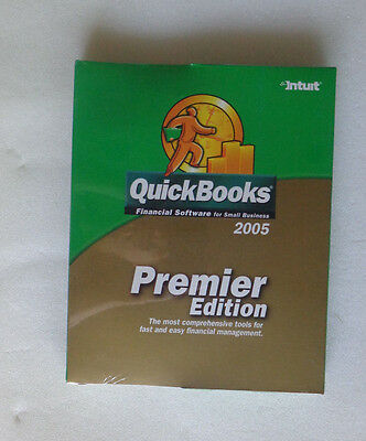 QuickBooks Premier Edition 2005 For Windows (New! Sealed)