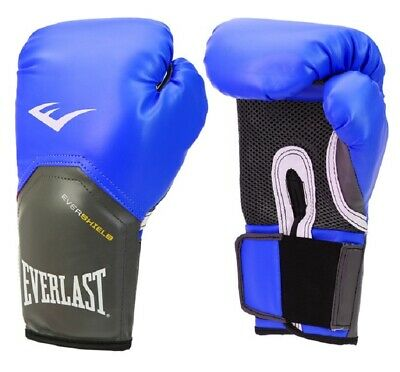 TRAINING GLOVES HEAVY BAG MITT WORK SPARRING Boxing $90 EVERLAST PRO STYLE 12Oz