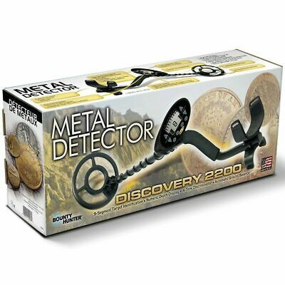 Bounty Hunter Discovery 2200 Metal Detector with Pinpointer