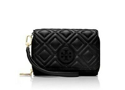 5fb2b22ed269 TORY BURCH MARION Quilted Leather Gold Chain Middle Compartment ...
