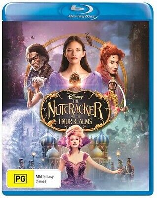The Nutcracker And The Four Realms : NEW Blu-Ray