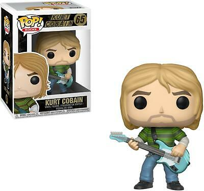 Nirvana - Kurt Cobain in Striped Shirt Funko Pop! Animation #65 - New in Box