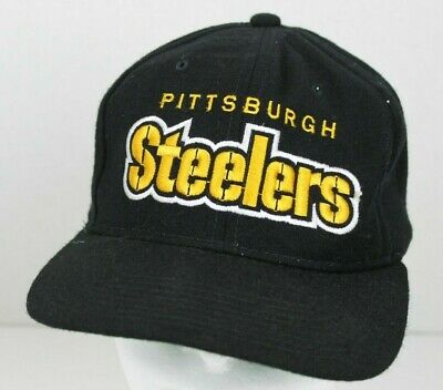 Vintage Pittsburgh Steelers Nfl Football Snapback Starter Wool Hat The  Natural 910b830a3