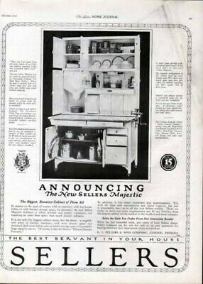 1920 Sellers Kitchen Cabinet Furniture Majestic Home Ad7233