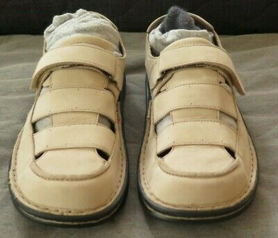 Womens Naot Shoes. Beige Suede. As New. Size 41