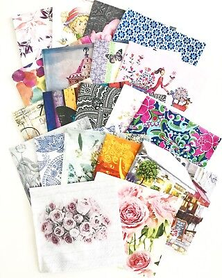 20 x Lucky Dip Mixed Lot of Beautiful Napkins/Serviettes of our choice