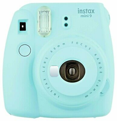 Fujifilm Instax Mini 9 - Ice Blue Instant Camera New 2019
