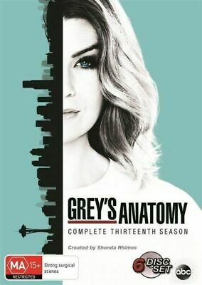 Grey's Anatomy : Season 13 : NEW DVD