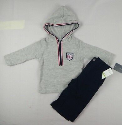 Tommy Hilfiger baby Boys set, Long sleeve top and pants set szs 3/6, 6/9 months