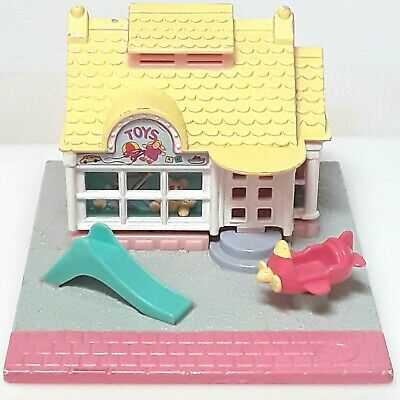 Polly Pocket Toy shop playset doll house Bluebird Vintage 1990s