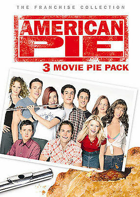 American Pie: 3 Movie Pie Pack DVD,  Brand New, Fast FREE Shipping!