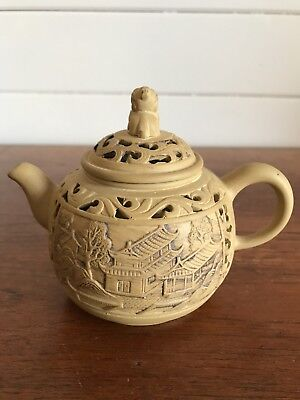 Vintage Small Chinese Yixing Clay Teapot