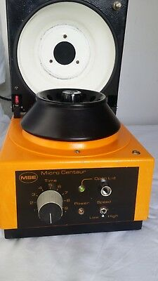 MSE Micro Centaur  Benchtop Centrifuge in very good condition.