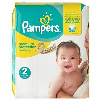 Pampers New Baby Size 2, 68 Nappies Essential Pack