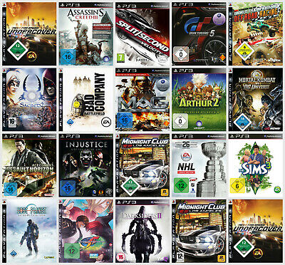 PlayStation 3 Spiele gebraucht in TOP-Zustand (PS3) - GTA, AC, Call of Duty, ...