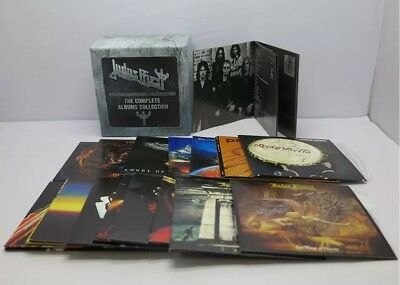 Judas Priest The Complete Albums Collection 19 Cd Box Set. New Sealed.  Nuevo.