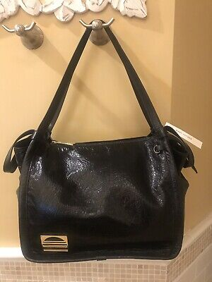 d6c15e14a597 MARC JACOBS Authentic Black Crinkled Glazed Leather SPORT TOTE NWT  450  +Receipt
