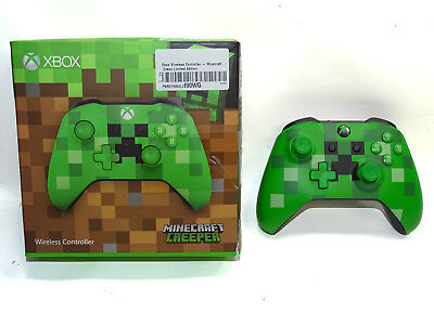 Microsoft Xbox One Wireless Controller - Minecraft Green - Limited Edition OVP