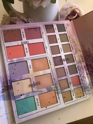 ESSENCE Into the Snow Glow Eyeshadow and Face Palette LE