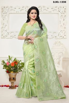 Women's Clothing Clothing, Shoes & Accessories Responsible New Designer Indian Bollywood Party Wear Ethnic Saree Pakistani Wedding Sari H12