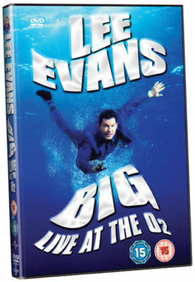 Lee Evans Big Live At The O2 DVD Brand New and Factory Sealed