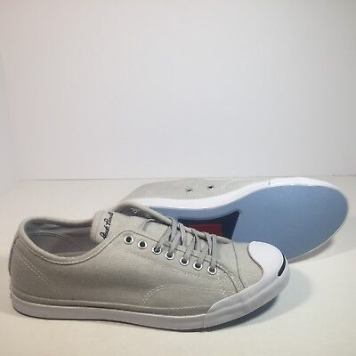 CONVERSE JACK PURCELL JP LS Low Profile Slip On Ox Sneaker Ash Grey Gray 154781C
